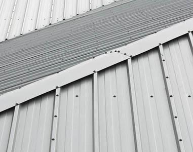 MIRAN POLANEC S.P., krovstvo, Pločevinaste strehe