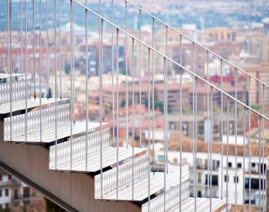 Proizvodnja kovinskih konstrukcij Peter Slemenšek s.p, Inox stopnice