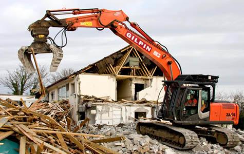 PEGAGO, storitve v gradbeništvu, Dragan Bubnjić s.p., Večje rušitve