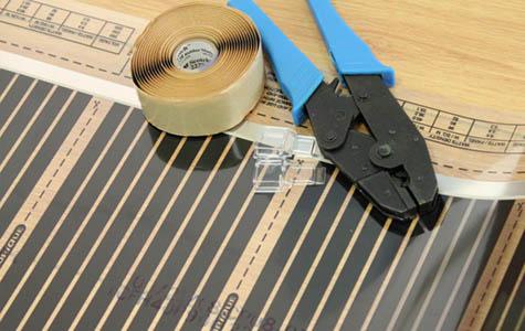 ŽUPEVC elektroinštalacije in elektromehanika d.o.o., Električno talno gretje