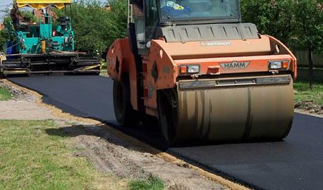 Komus d.o.o., Gradnja cest
