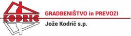 Gradbeništvo Jože Kodrič s.p.