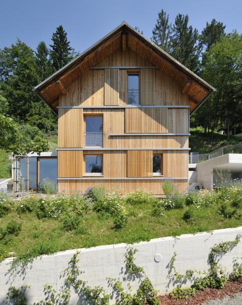 Kakovostno zasnovana hiša, plod sodelovanja med arhitektom in stranko, Kombinat arhitekti