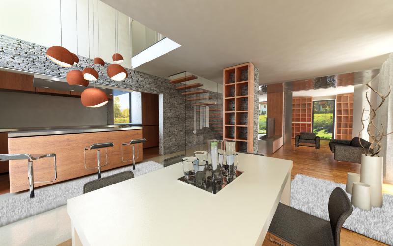Enodružinska hiša v Celju, interier, GMT+1 arhitekti