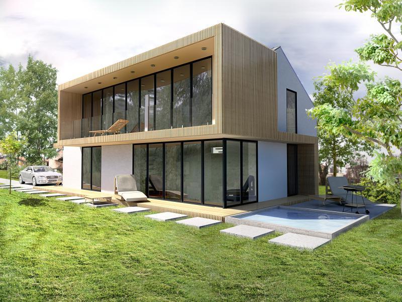Enodružinska hiša v Mariboru, GMT+1 arhitekti