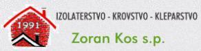 Kos Zoran s.p.- izolaterstvo, krovstvo, kleparstvo