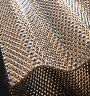 Valovite polikarbonatne plošče Diamond, bronze