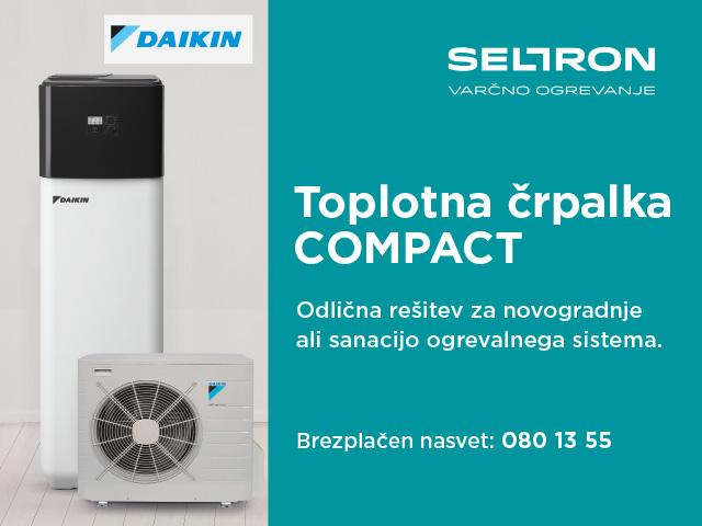Toplotna črpalka COMPACT