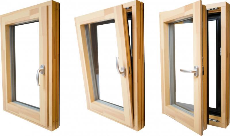 Načini odpiranja oken