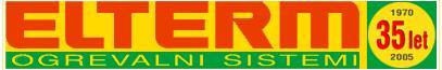 ELTERM, podjetje za elektro strojno montažo in trgovino, Bled, d.o.o.