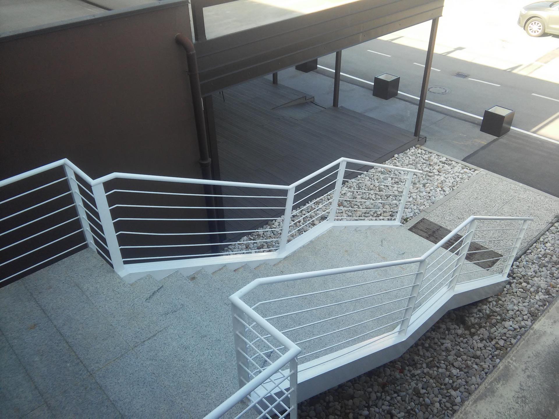 Obnova stopnišča