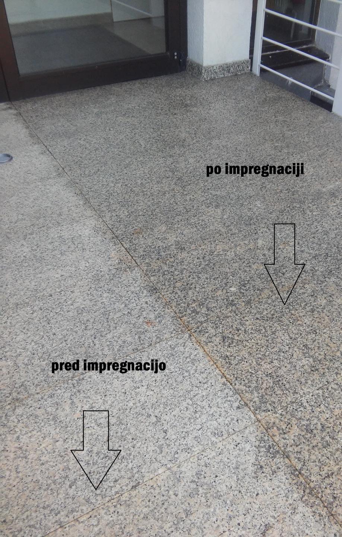 čiščenje in zaščita stopnic
