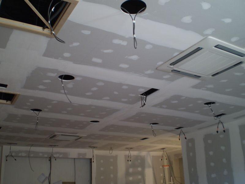 Klemont klement franc s p suhomonta a mav ne plo e spu eni stropovi murska sobota - Faux plafond plaque de platre ...