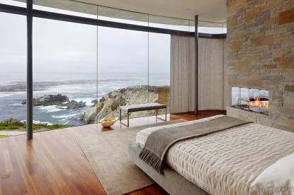 Pogledi iz hiše, panoramska okna