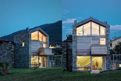 Hiša mora spadati v grajeno okolje