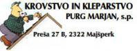 Krovstvo kleparstvo Purg Marjan s.p