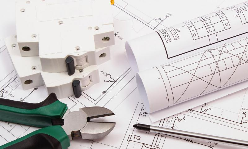 Načrt za elektroinštalacije v hiši
