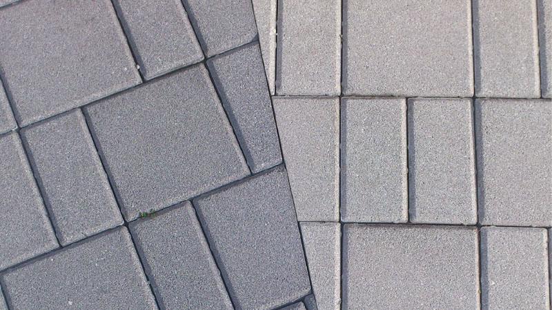 Tlakovci kvadrati in pravokotnik - tlakovci
