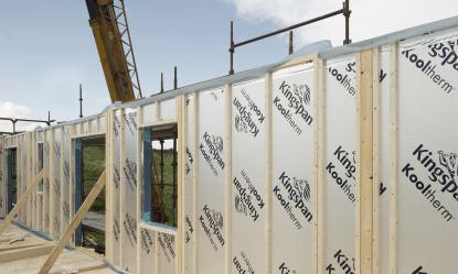 Montažni - panelni okvirni sistem gradnje