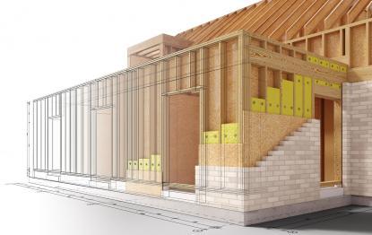 Konstrukcijski sistemi montažnih hiš