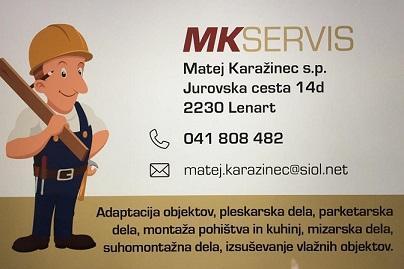 MK Servis, Matej Karažinec s.p.