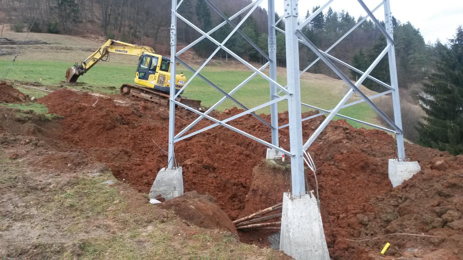 Izkop za temelje
