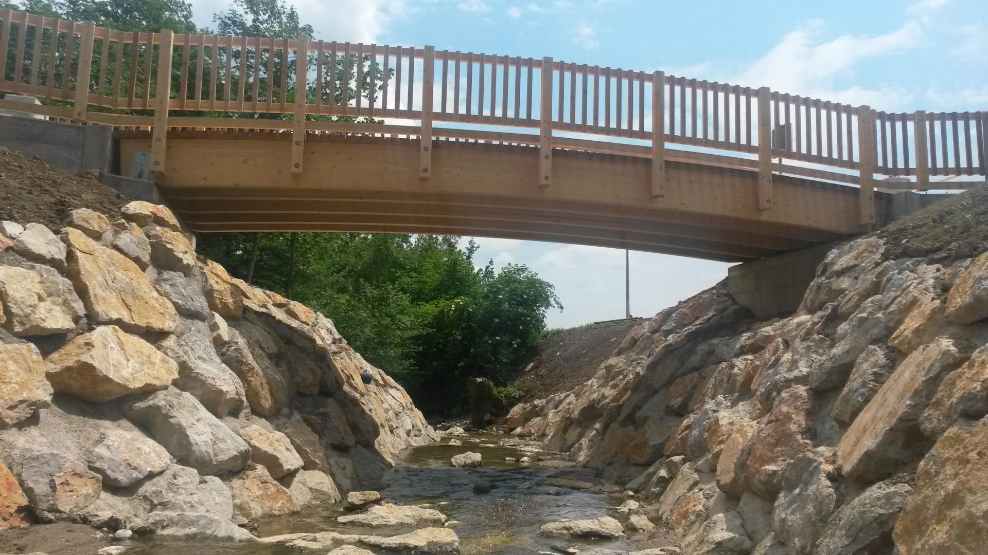 Izdelava lesenega mostu