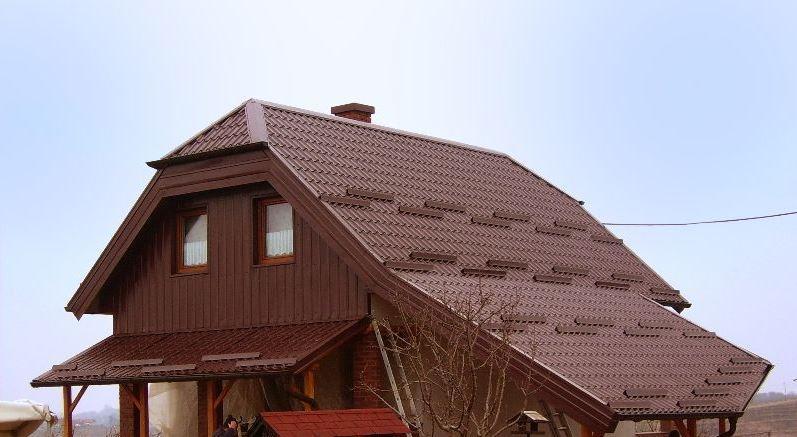 Lesene strehe