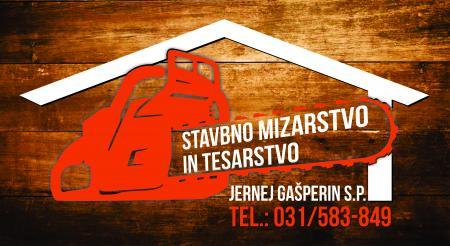 Stavbno mizarstvo in tesarstvo, Jernej Gašperin s.p.