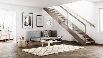 Kam postaviti stopnice?