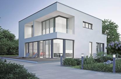 Moderna PVC - alu okna za sodobno arhitekturo