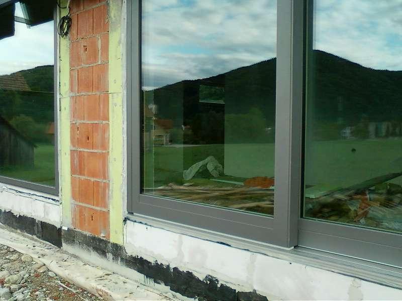 Kdaj vgraditi okna, pred ali po ometih?
