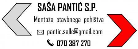 Saša Pantić s.p. montaža stavbnega pohištva
