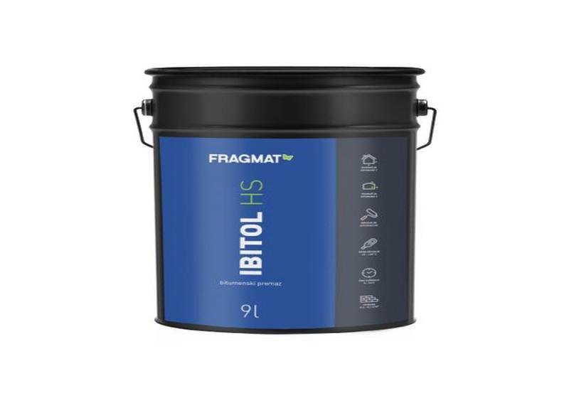 Hidroizolacija: bitumenski premaz Ibitol