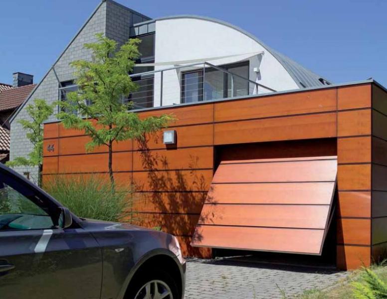 Vrste garažnih vrat na daljinca