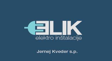 Elik, elektro inštalacije Jernej Kveder s.p.