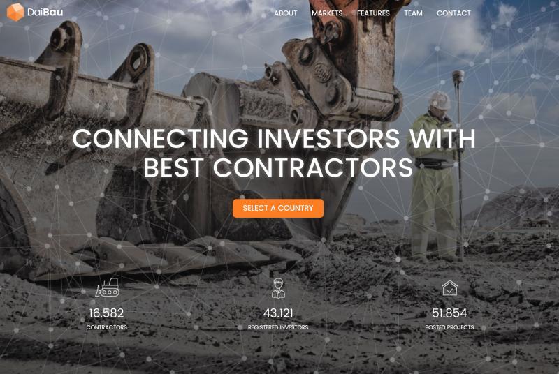 DaiBau.com – prva regionalna gradbena platforma