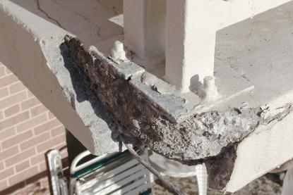 Sanacija betonske konstrukcije balkona