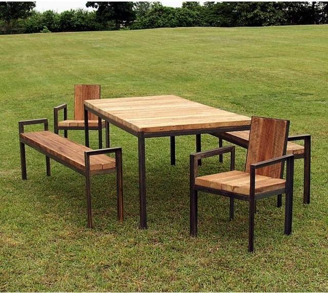 Leseno vrtno pohištvo, vir: st.houzz.com