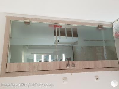 Bor cpl/stekleno krilo panorama PN7
