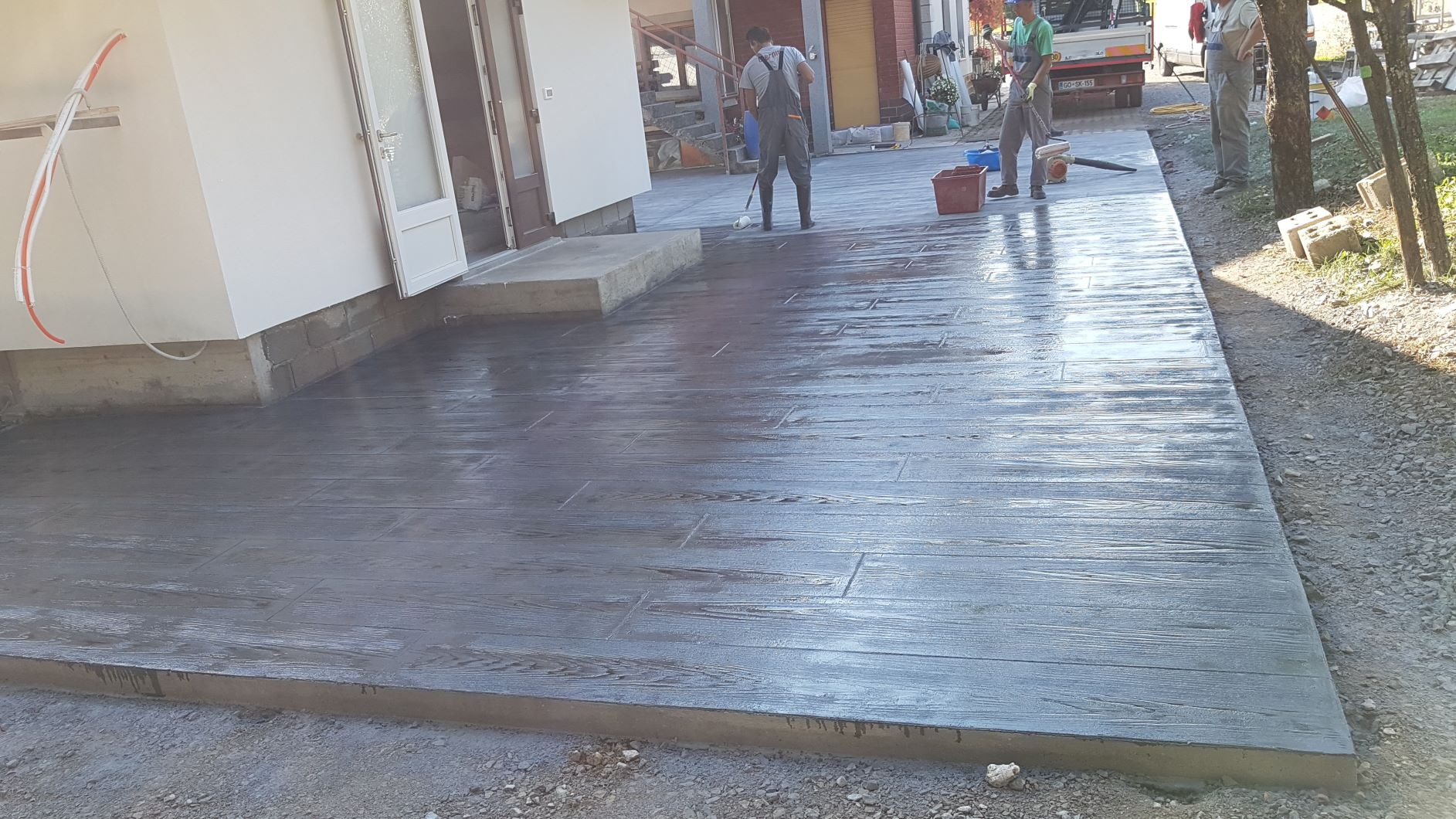 Tiskani betoni