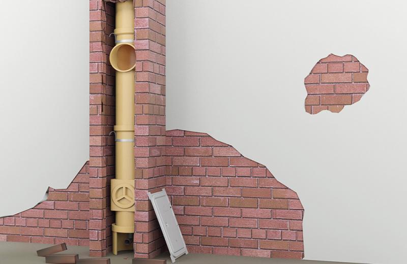 Keramičnim dimnikom pripisujemo dolgo življenjsko dobo in visoko požarno varnost