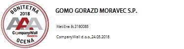 GOMO Gorazd Moravec, s.p.