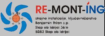 ReMontIng strojne instalacije, ključavničarstvo Benjamin Eržen s.p.