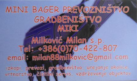 Milković Milan s.p