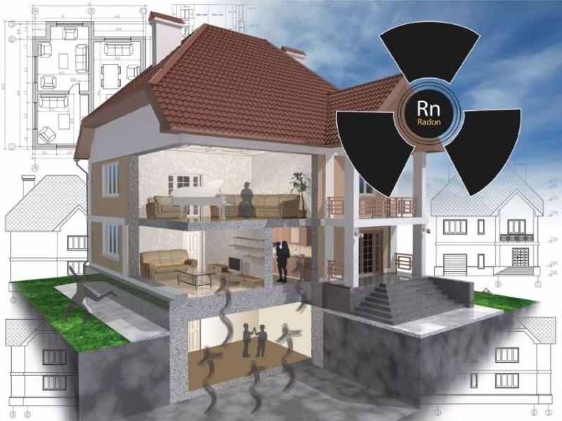 Radon v stavbi - grožnja za zdravje stanovalcev
