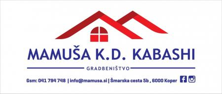 MAMUŠA gradbeništvo in trgovina, k.d. Kabashi