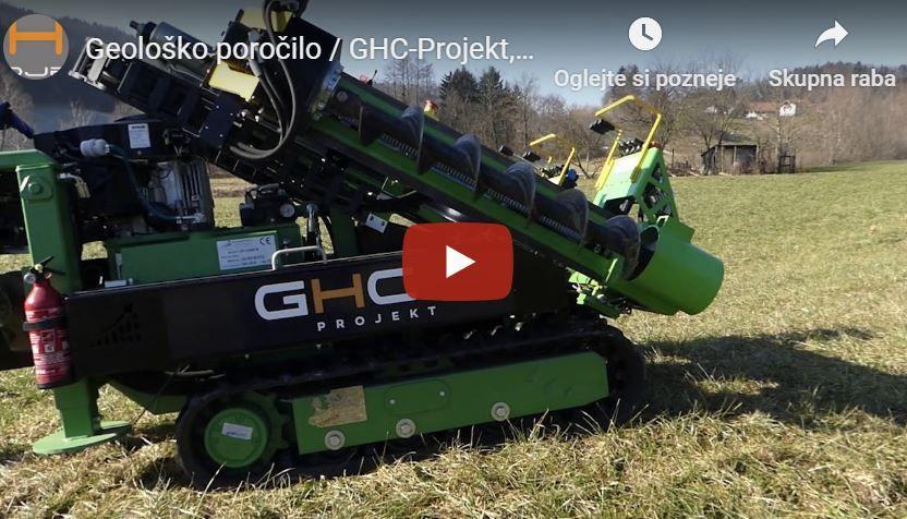 GHC-Projekt geološko poročilo promocijski video