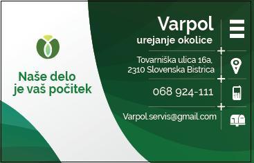 VARPOL UREJANJE OKOLJA, Dejan Brišnik s.p.