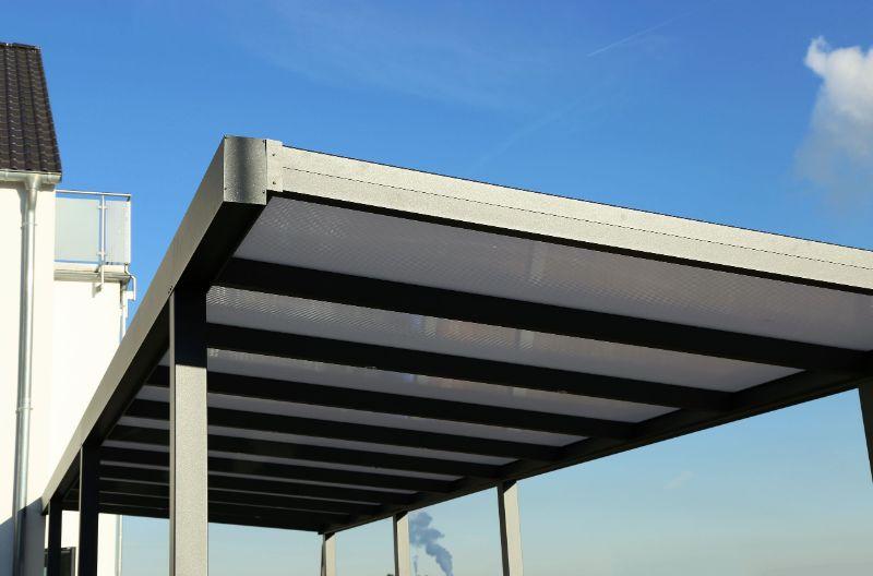 Moderni nadstreški in ravne strehe